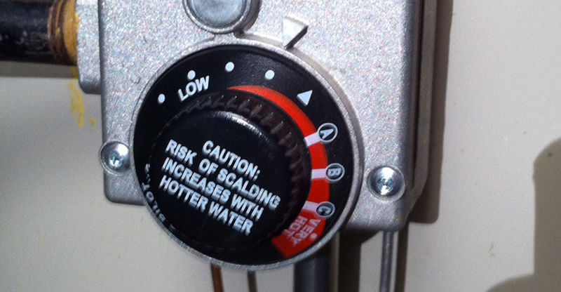 Lower Your Water Heater Tempature